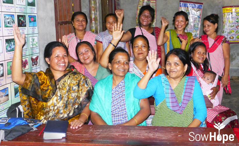 Bangladesh women's cooperative.